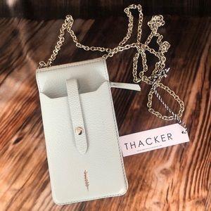 NWT Thacker Nora Phone Crossbody-Cloud